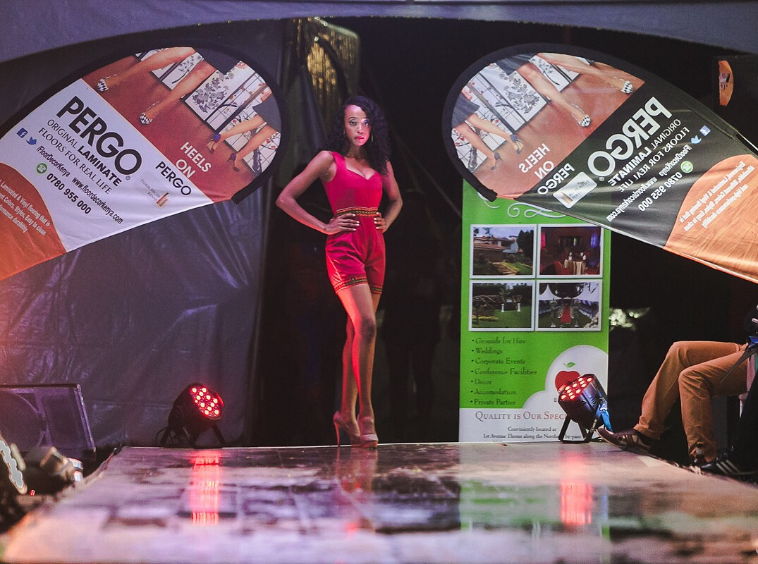 We sponsored the Kiambu Fashion Week PERGO® on heels campaign to show our clients that PERGO® floors cannot be dented by Heels . Best durability.
