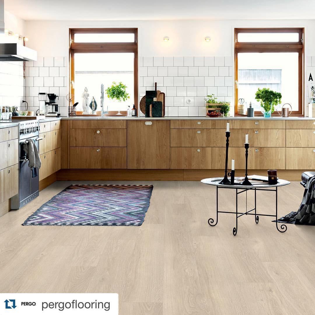 PERGO® Luxury Vinyl Tile in a Kitchen.